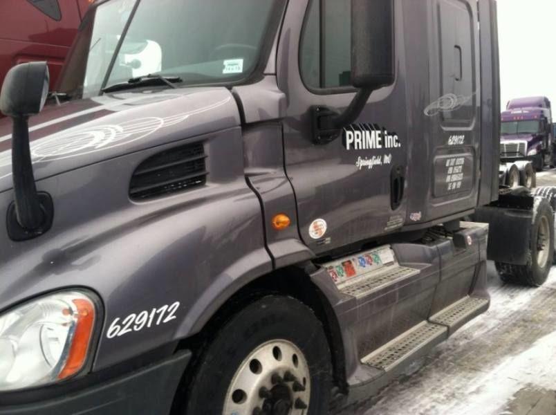 brand new prime truck