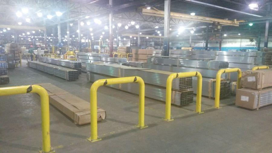 Inside of the SAPA aluminum plant in Delhi Louisiana