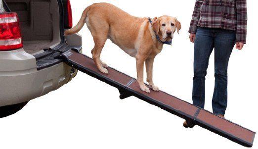 tri-fold vehicle dog truck ramp