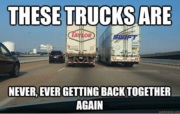 Just A Funny Trucking Picture To Brighten Your Day Page
