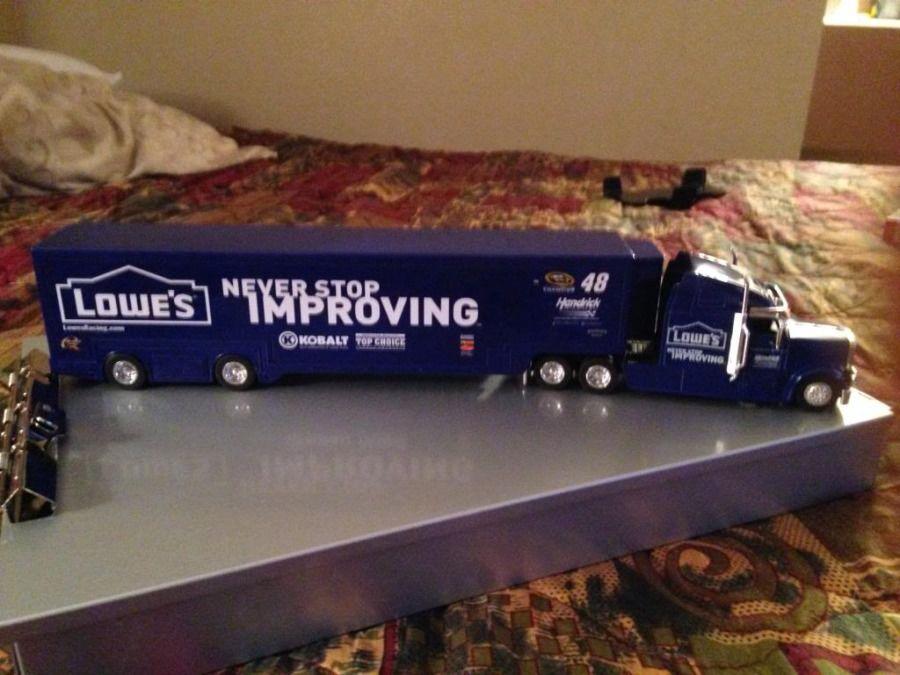 Lowe's 48 model truck replica