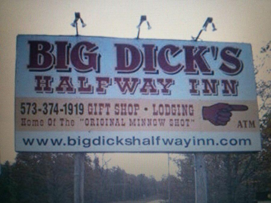funny trucker pictures big dick's halfway inn