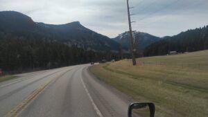 Montana scenery on 119