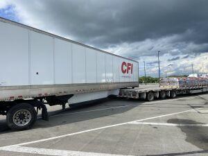 CFI trailer stuck on my trailer