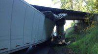 Same bridge different truck 04/2014 followed GPS