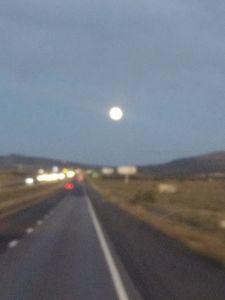 Full moon a'rising