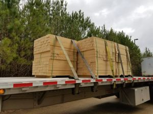 Wood packing materials.