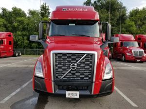 New Volvo front view.
