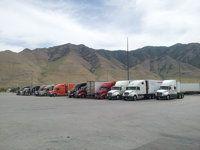 Sitting at a Truck Stop In Utah