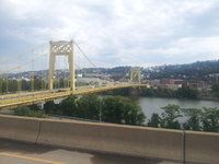 Interesting bridge in Pittsburgh, PA