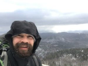 Me on the summit of Poke-O-Moonshine