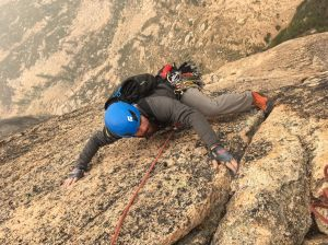 Climbing the West Face of North Early Winters Spire