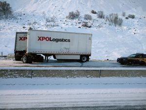 XPO in ditch