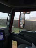 Rainin in Waxahachi tx QT ok lot waitin on a load