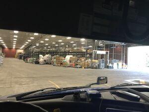 Watching basement dock and warehouse