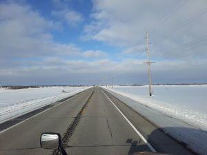 Iowa side roads Jan 2020