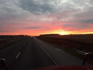 Sunrise in Illinois