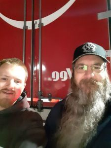 Rob T. and PackRat  in Iowa