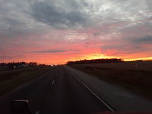 Sunrise in southern IL