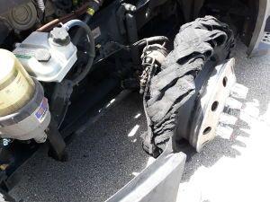 Blown Steer Tire 7/3/20