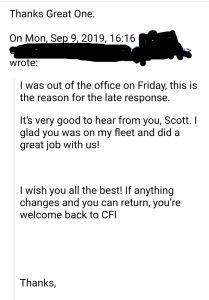 FM response