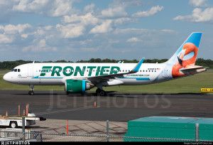 Frontier Airlines Flo The Flamingo Livery