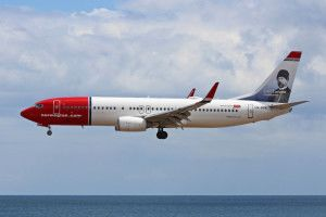 Norwegian Airlines Carl Larsson Livery