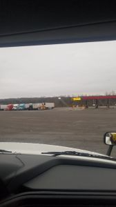 Morning from truck stop in Tennessee Baby!