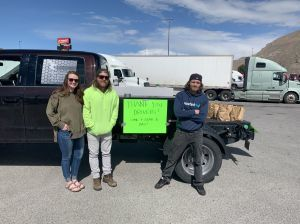 Kindness towards truckers