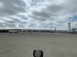 nearly empty lot II