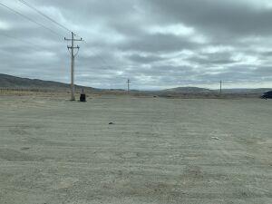 nearly empty lot