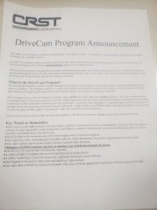 DriveCam Program Summary