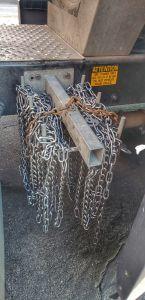 Chain rack