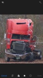 The truck that hit me