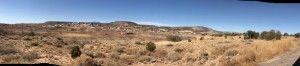 A desert panorama
