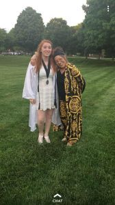 Jamie and Mom, Graduation.