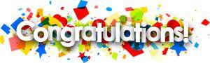 Congratulations~!!