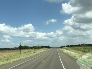 Long Texas Road from other day