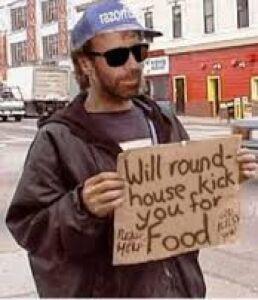 Homeless chuck
