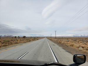 CA 58 near Mojave CA