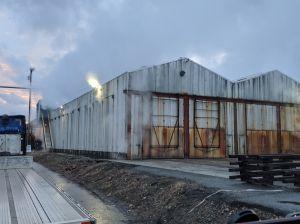 Lumber kiln 1