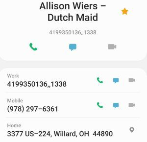 Allison Wiers - Dutch Maid Logistics