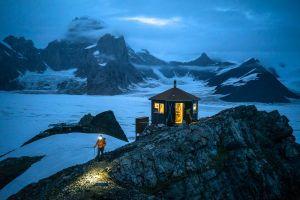 Remote Mountain Hut, Chris Burkhard