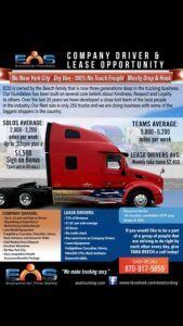 EOS trucking
