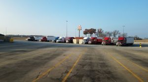Hebron, IN fuel stop - Thanksgiving Day 2018