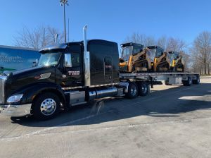 3 Skid Steers to GA.