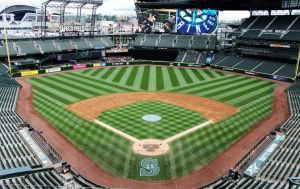 One of my happy places (I love Seattle and ball parks!)
