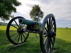 Civil War Cannon.