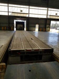 Typical Lumber loading dock.