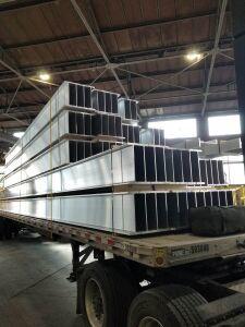 Aluminum Beams Sapa Extrusions; Cressona, PA